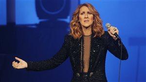Céline Dion en spectacle au Centre Vidéotron.