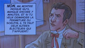 L'histoire de l'Assemblée nationale en bande dessinée