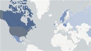 Le géant Couche-Tard en graphiques et carte