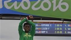 Le médaillé d'argent du marathon de Rio 2016