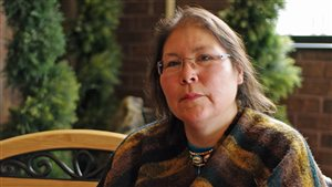 La chef de la Première Nation Beaverhouse, Marcia Brown Martel
