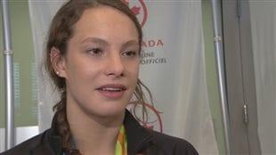 Des athlètes canadiens qui étaient à Rio arrivent à Toronto