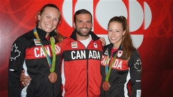 Les athlètes de la région reviennent à Québec
