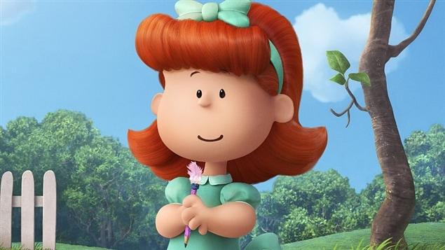 La « petite fille aux cheveux roux » dans une scène de « Peanuts : le film »