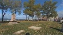 La Place des Anciens Combattant, à Rimouski