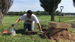 Des archéologues sur les traces des ancêtres à Wôlinak