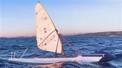Le SailBot de UBC a mis le cap sur l'Irlande