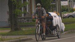 Le tour de la Gaspésie à vélo... avec deux chiens