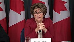 La sous-ministre des Travaux publics et des Services gouvernementaux, Marie Lemay, a livré une nouvelle mise à jour sur le système de paye Phénix, le mercredi 24 août 2016.