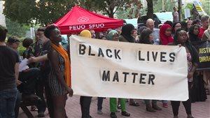 Le mouvement Black Lives Matter à Ottawa