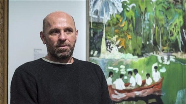 L'artiste peintre Peter Doig