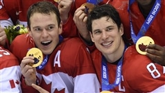 Sidney Crosby, capitaine d'Équipe Canada