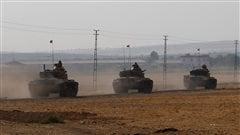 L'armée turque s'installe en Syrie