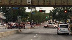 Nord de Montréal : coups de feu, arrestation et automobiliste blessé