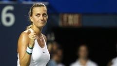 Une cinquième demi-finale d'affilée à New Haven pour Kvitova