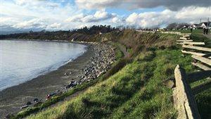 Les résidents du quartier Clover Point de Victoria se sont vivement opposés au projet d'une usine de traitement des eaux usées.