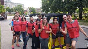 Une équipe de bénévoles de Leucan à Trois-Rivières
