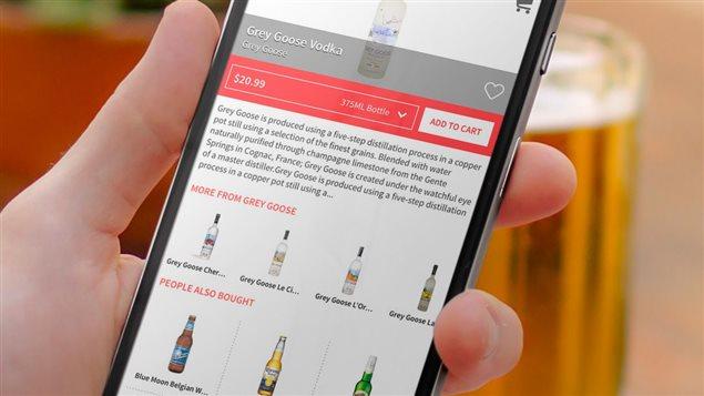 une appli mobile pour se faire livrer son alcool arrive calgary et inqui te un m decin ici. Black Bedroom Furniture Sets. Home Design Ideas