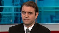 L'ancien ambassadeur turc au Canada, Tuncay Babali, accorde une entrevue à CBC en mai 2014.