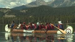 Première expérience dans les Rocheuses pour des réfugiés d'Edmonton