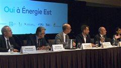 Une coalition patronale et syndicale vante les retombées d'Énergie Est