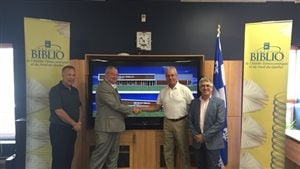 Dévoilement du projet de rénovation du Réseau Biblio de l'Abitibi-Témiscamingue et du Nord-du-Québec