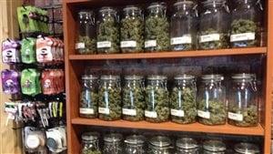 La vente de cannabis dans une boutique de Denver, au Colorado.