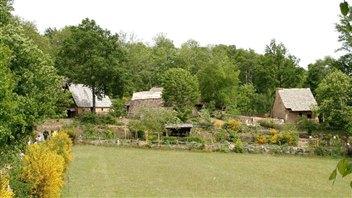 Recréer une ferme du Moyen Âge
