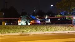 Un corps retrouvé dans un véhicule incendié à Laval