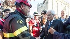 Jour dedeuil national après le séisme en Italie