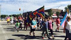 Premier défilé de la fierté gaie à Portage la Prairie