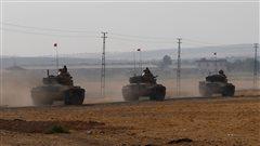 Les forces turques poursuivent leur progression en Syrie