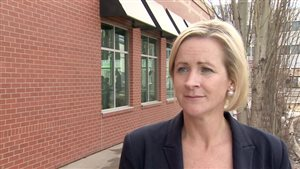 Katherine O'Neill, présidente du Parti progressiste-conservateur de l'Alberta.