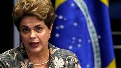 La présidente du Brésil appelle le Sénat à voter contre sa destitution