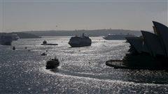 Trois Canadiens arrêtés avec 95kilos de cocaïne en Australie