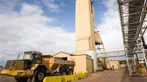 La mine d'uranium de Cameco à Cigar Lake.
