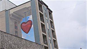 La dernière murale du circuit de Sherbrooke, située sur la rue Wellington Nord