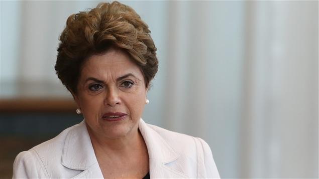 La présidente brésilienne écartée du pouvoir Dilma Rousseff