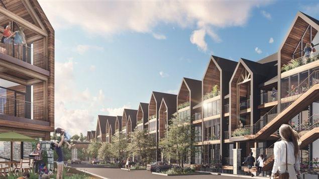 Le Groupe Norplex de Québec ira de l'avant dans son projet immobilier La Pignoronde.
