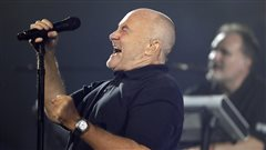 Rare prestation de Phil Collins lundi soir au US Open
