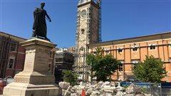 La renaissance se fait attendre à L'Aquila, sept ans après le séisme