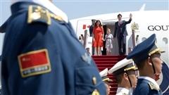 Justin Trudeau arrive en Chine pour une visite officielle