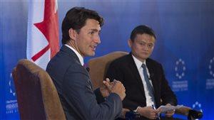 Justin Trudeau arrive en Chine, où l'économie monopolisera son discours