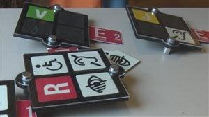Des pictogrammes d'un projet-pilote pour améliorer la sécurité des aînés à Victoriaville