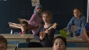 Le merlin a remplacé la guitare à l'École Sainte-Madeleine