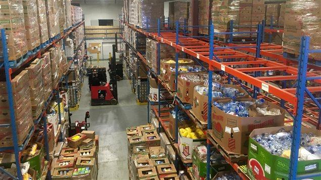 L'entrepôt de Moisson Montréal
