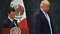 Trump défend le droit de construire un mur entre les États-Unis et le Mexique