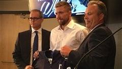 Blake Wheeler, nouveau capitaine des Jets de Winnipeg
