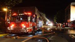 Un incendie jette 6 familles à la rue à Verdun