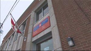 Le bureau de Postes Canada à Mont-Joli